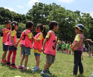 2017 Sports Day キンダーガーデンmonkey tail tag