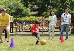 2017 Sports Day ボール蹴り