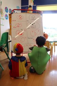 ハロウィン かぼちゃの絵コンテスト