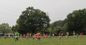 プリスクール 運動会 50m走