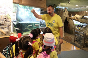 英語保育園幼稚園 遠足 しながわ水族館