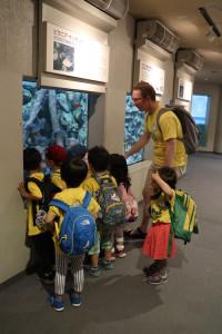 英語保育園幼稚園 遠足 しながわ水族館 ピラニア